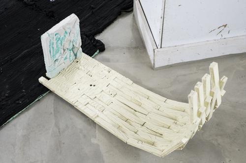 Tim Messeiller, Installation view [photo: Morgane Clémént-Gagnon]
