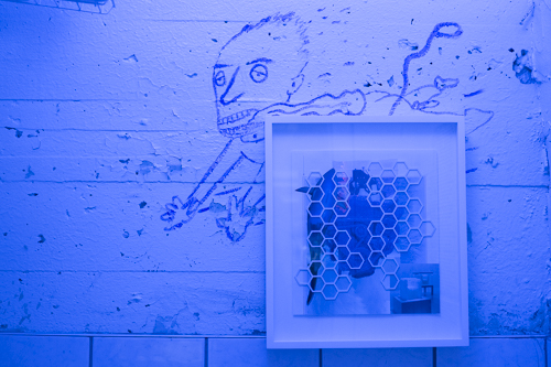 Raul Aguilar Canela and Philippe Caron Lefebvre, Installation view [photo: Morgane Clémént-Gagnon]