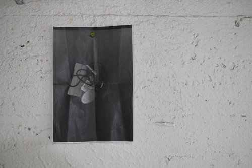 Andrea Coyotzi Borja, Installation view [photo: Morgane Clémént-Gagnon]