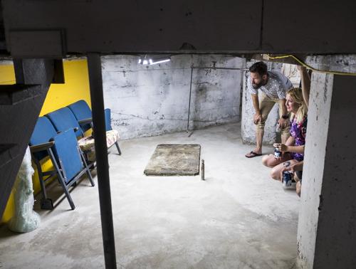 Louis Buovier, Installation view, Vernissage [photo: Morgane Clémént-Gagnon]