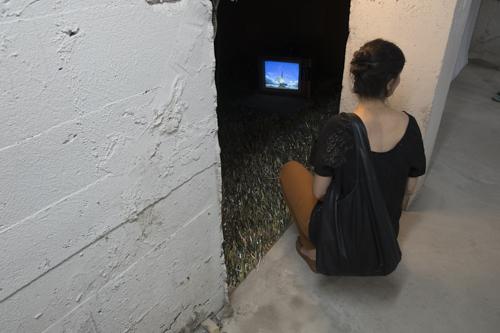 Pier-Anne Mercier, Installation view, Vernissage [photo: Morgane Clémént-Gagnon]