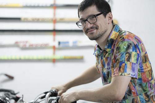 David Bellemare, Portrait [photo: Morgane Clémént-Gagnon]