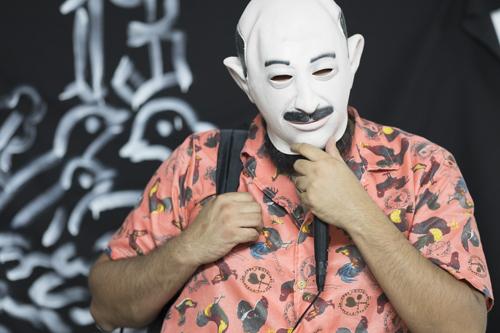 Mario Martinez, Performance, Vernissage [photo: Morgane Clémént-Gagnon]