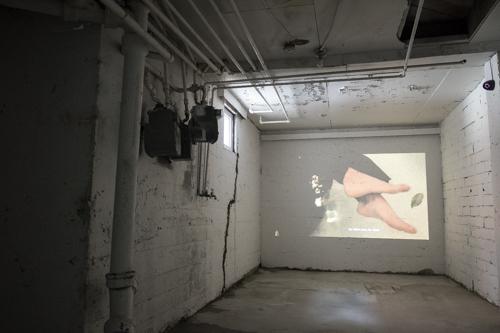 Stephanie Creaghan, Video Screening [photo: Morgane Clémént-Gagnon]
