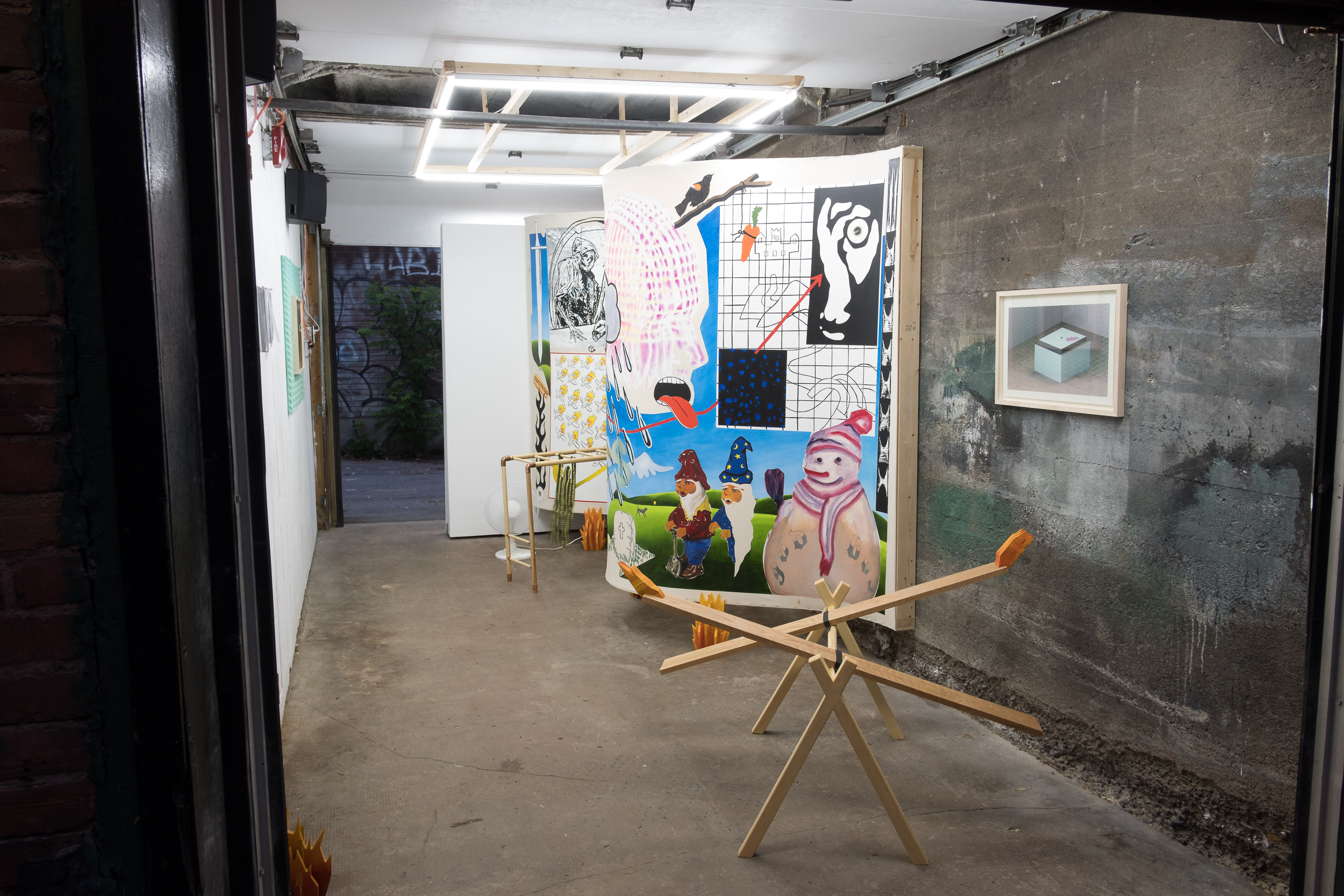 Exhibition View [Photo by Morgane Clément-Gagnon]