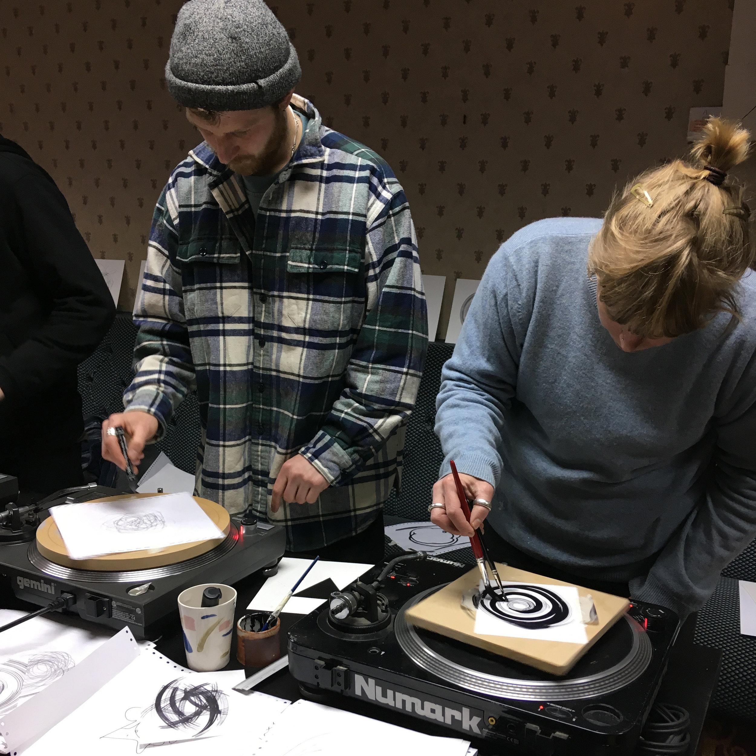 Copper sounds' WAX record making workshopFri 23 November |4 – 6pm -