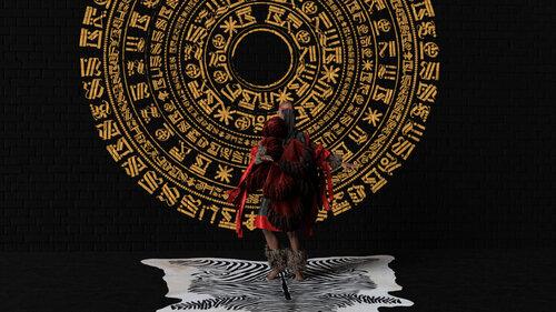King Debs,  Ritual Dance 0001,  (2018) still