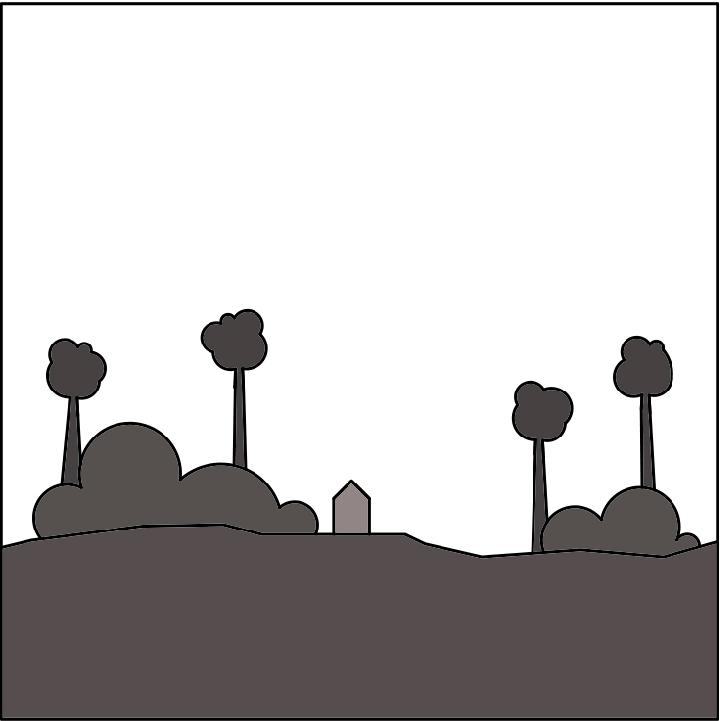 Bos - Een kenmerk van de bosgrond is de strooisellaag van blad, vegetatie en naalden. Onder deze strooisellaag bevindt zich veelal zandgrond.