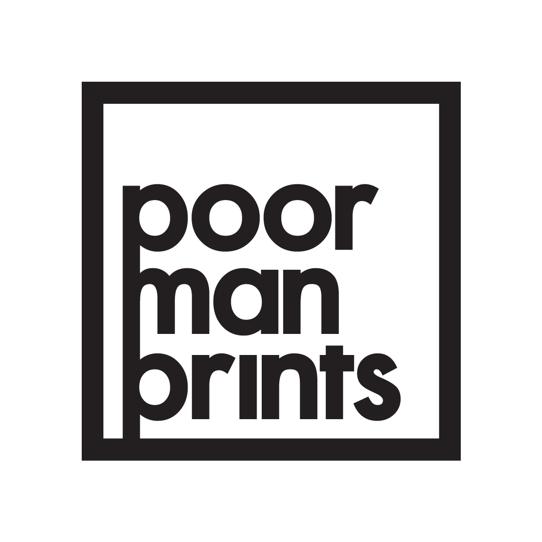 Poormanprints Icon, 2017