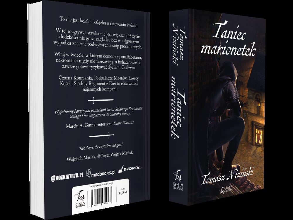Powieść dostępna m.in. w sklepach: - MadBooksEmpikLegimiAudiobook:StorytelAudiotekaPełną listę sklepów oferujących Taniec marionetek można znaleźć TUTAJ