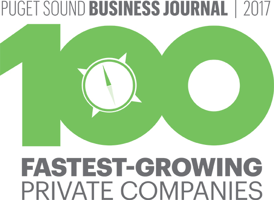 Puget Sound Business Journal: 100 Fastest-Growing Private Companies