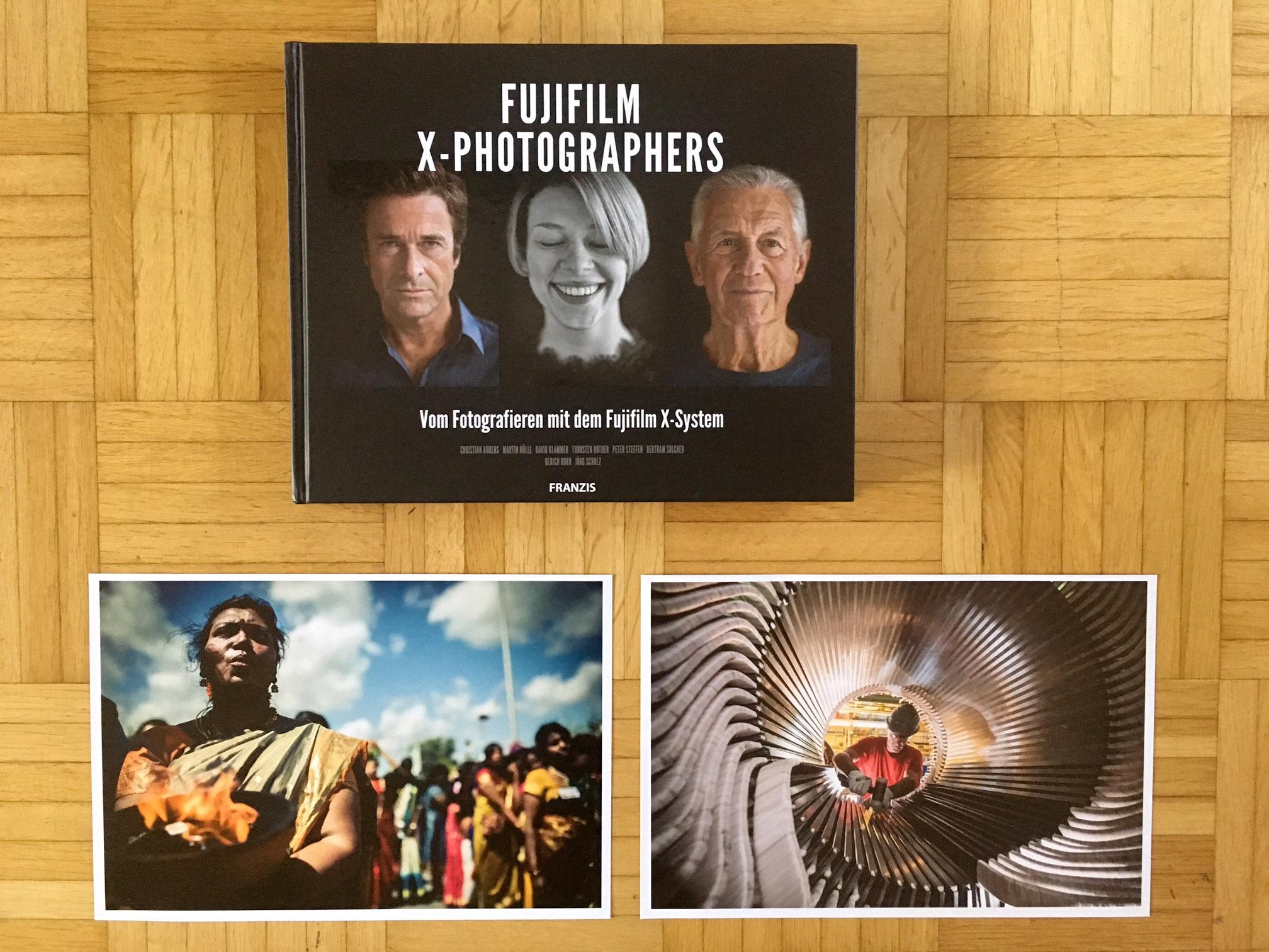 Das Fujifilm X-Photographers Buch, Special Edition signiert inkl 2 Prints für 49,95 Euro! Bei mir zu kaufen.  Eine Leseprobe als Download PDF gibt es hier.