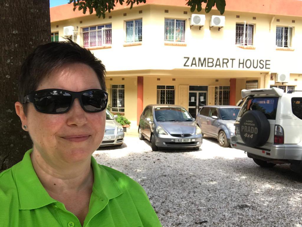Rut Hanstveit outside the Zambart office
