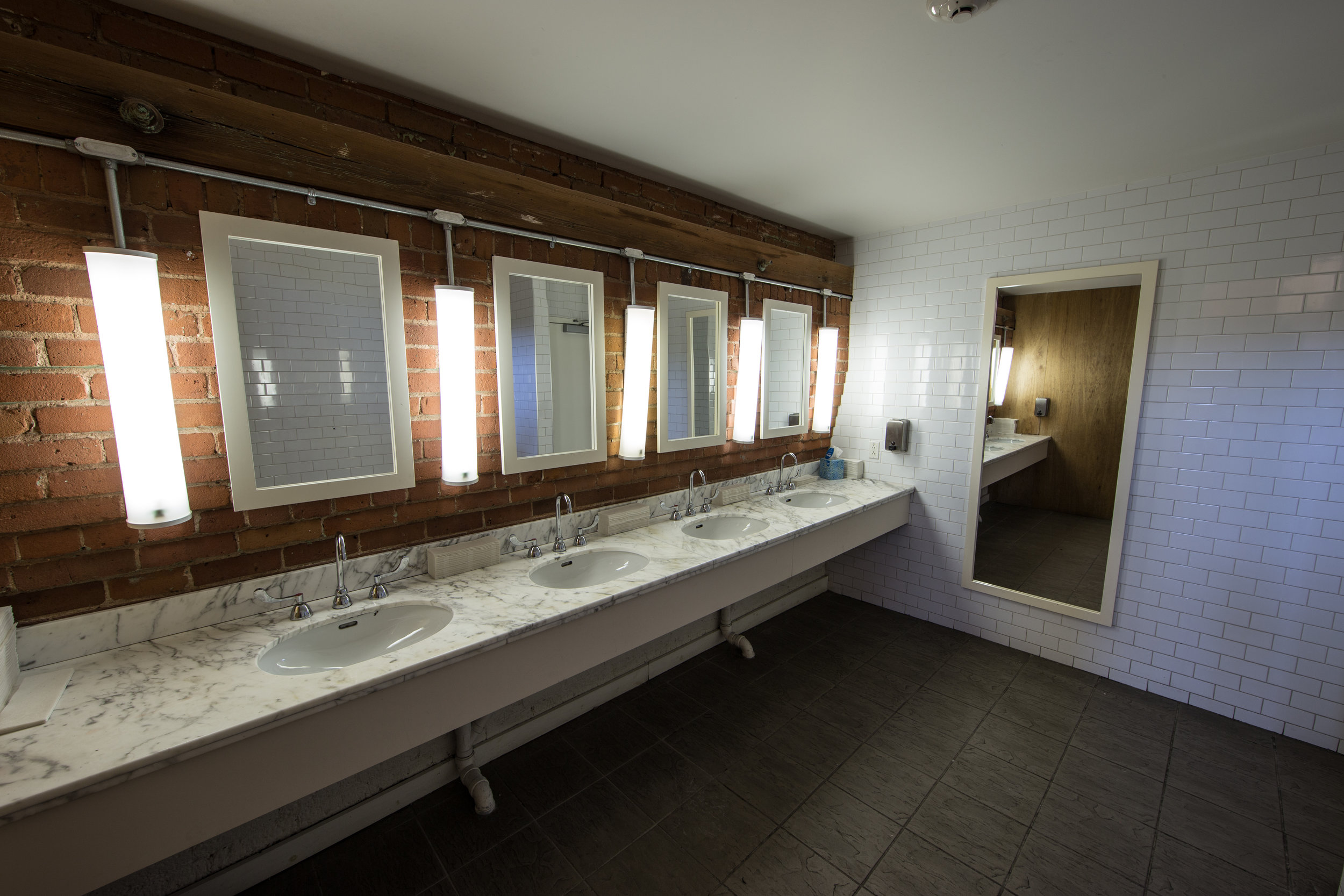 Toilets - event venue