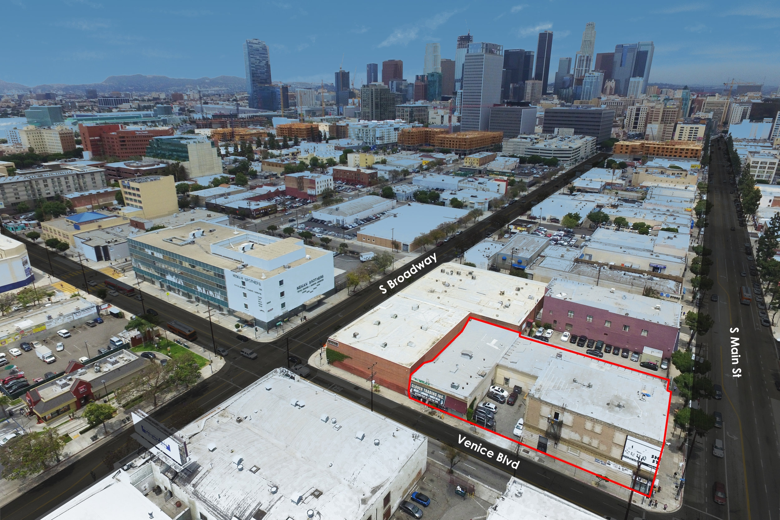 1525 south main street, los angeles, ca 90015 - - PRICE: $ 9,000,000- TYPE: Storefront Retail- SIZE: 41,535 SF