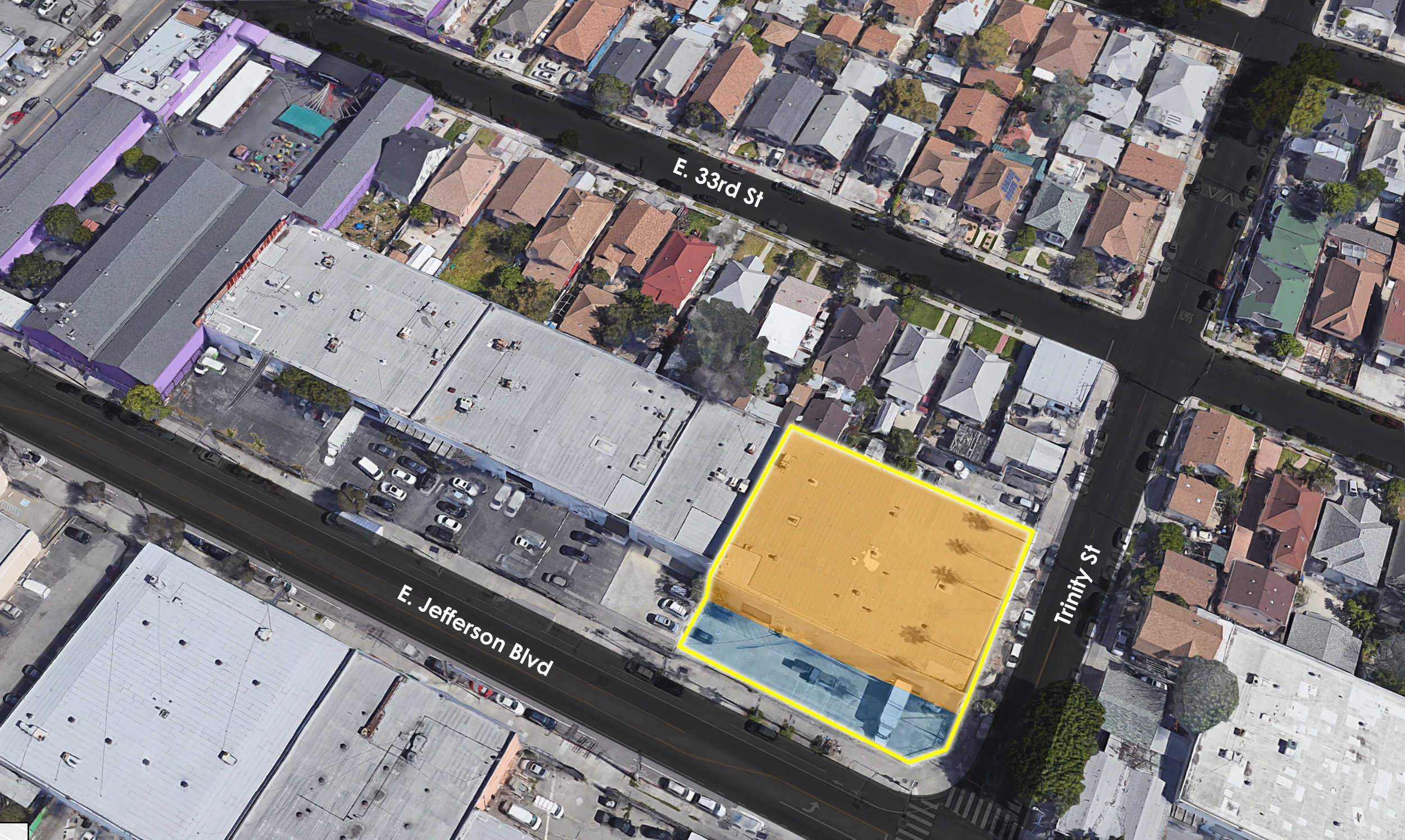 365 East JEFFERSON Boulevard, LOS ANGELES, CA 90011 - - LEASE RATE: TBD- BUILDING: 32,400 SF- TYPE: Industrial
