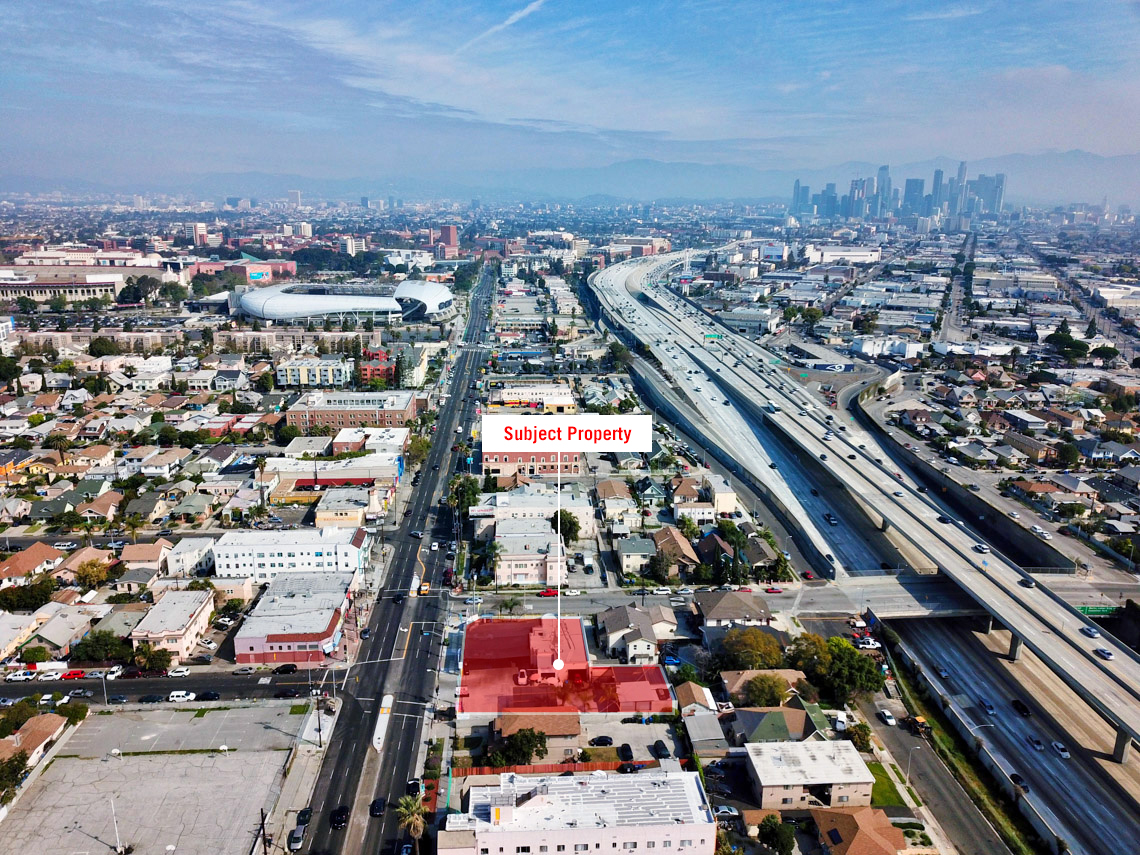 developMENT opportunity:4200-4210 SOUTH FIGUEROA STREET, LOS ANGELES, CA 90037 - - Asking Price: $3,700,000- Land SF: 16,925 SF- GBA: 2,577 SF