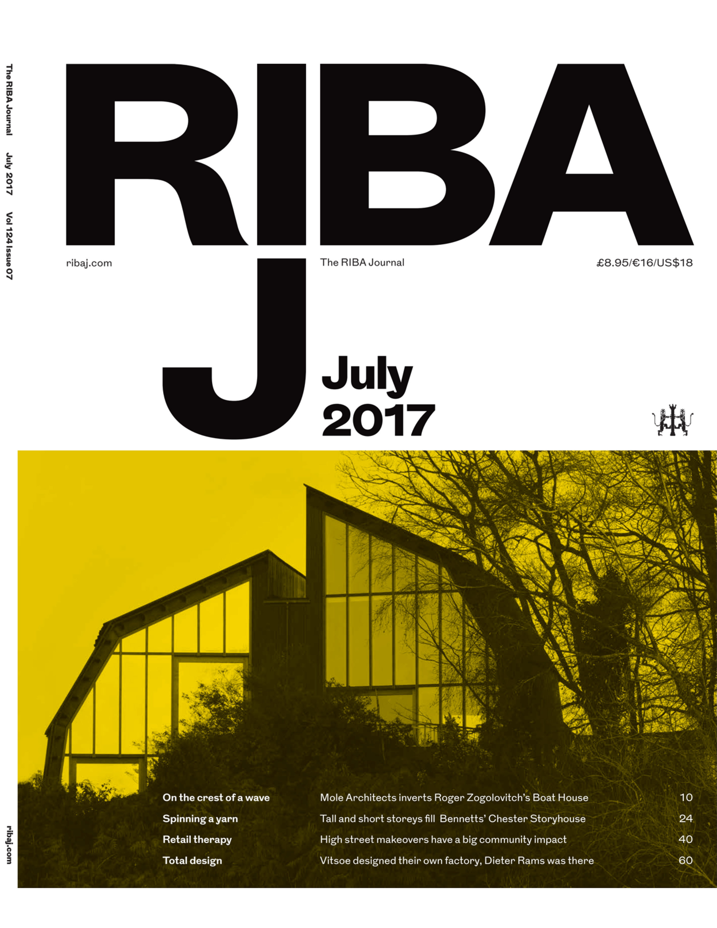 RIBA Journal July 2017