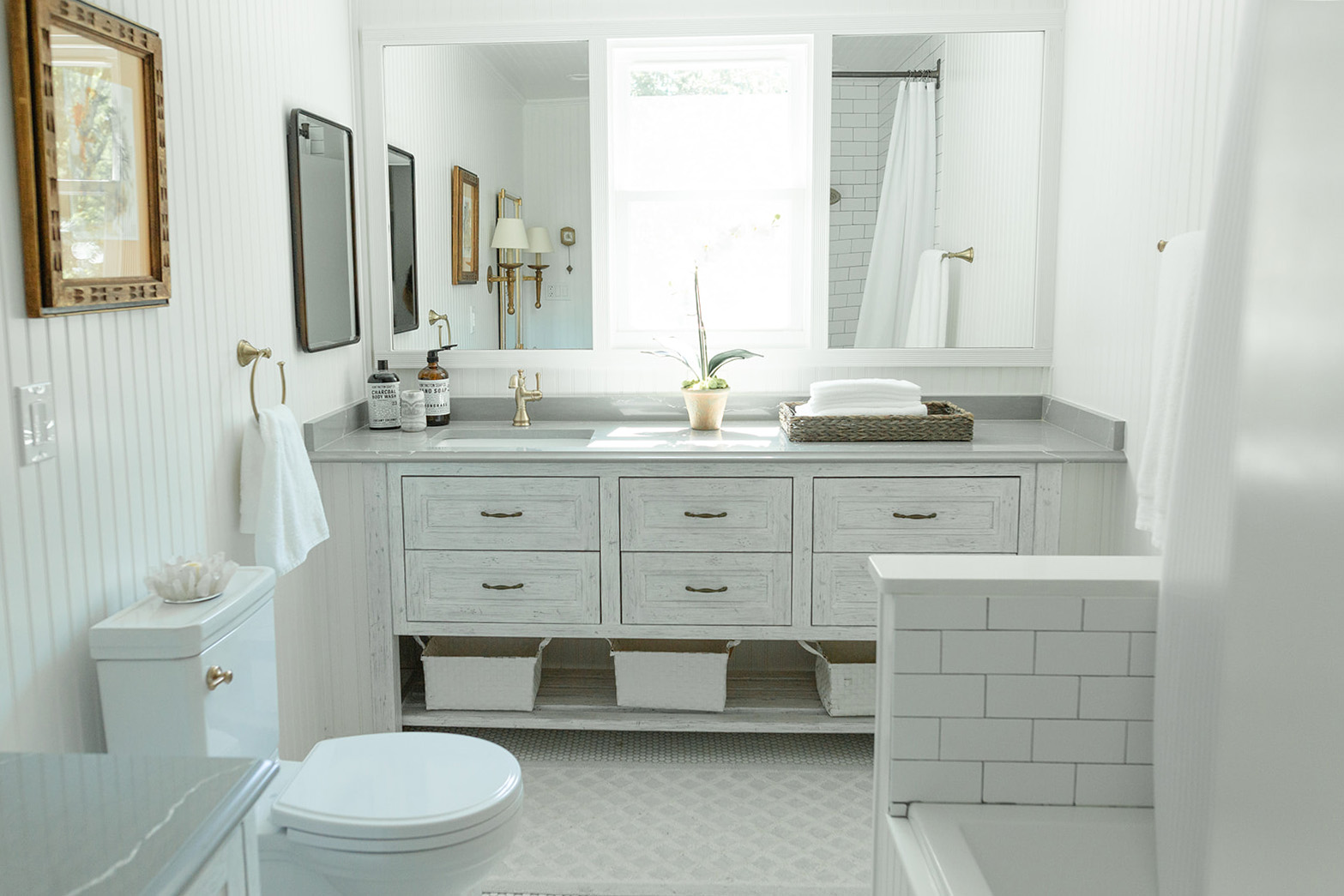 Dublin Ohio traditional bathroom remoderl