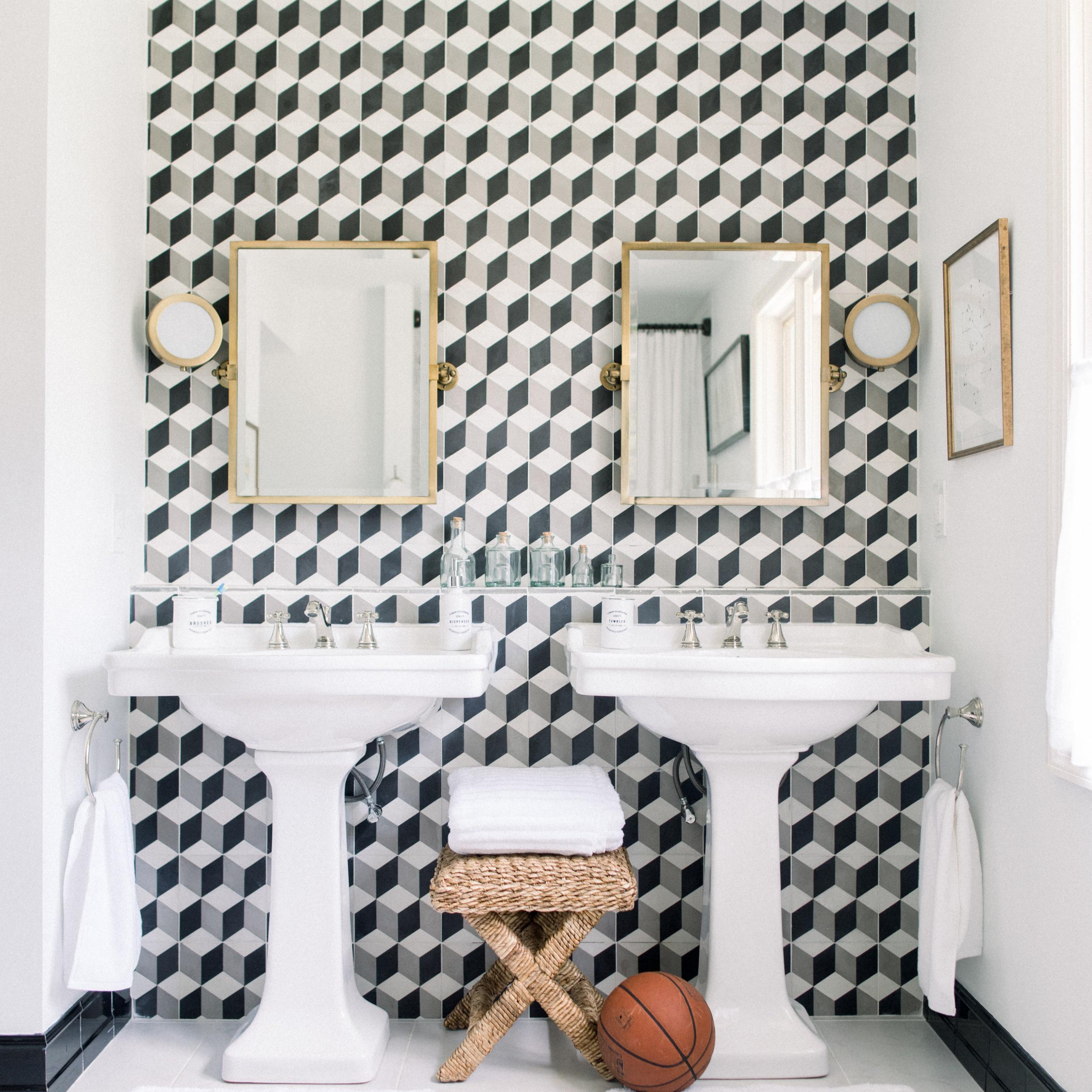 A Modern Classic Bathroom -