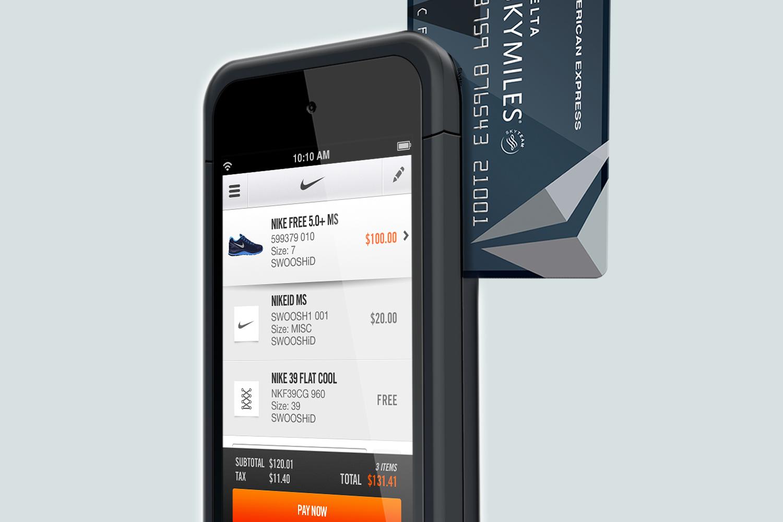 Nike Employee Sales Device