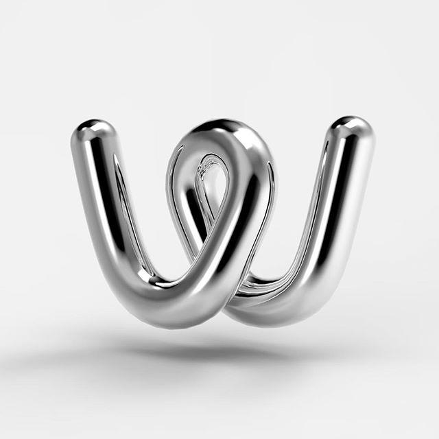 W for Wire #36daysoftype04 #36days_w #36daysoftype #36daysoftype_w
