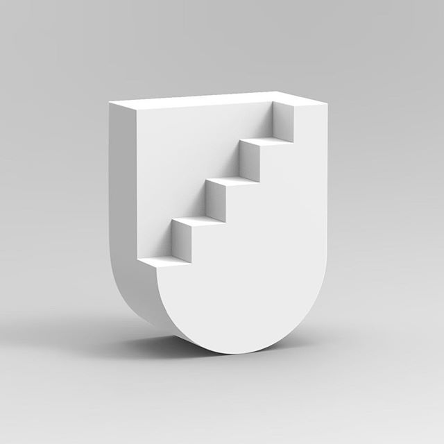 U for Upstairs #36daysoftype04 #36days_u #36daysoftype #36daysoftype_u