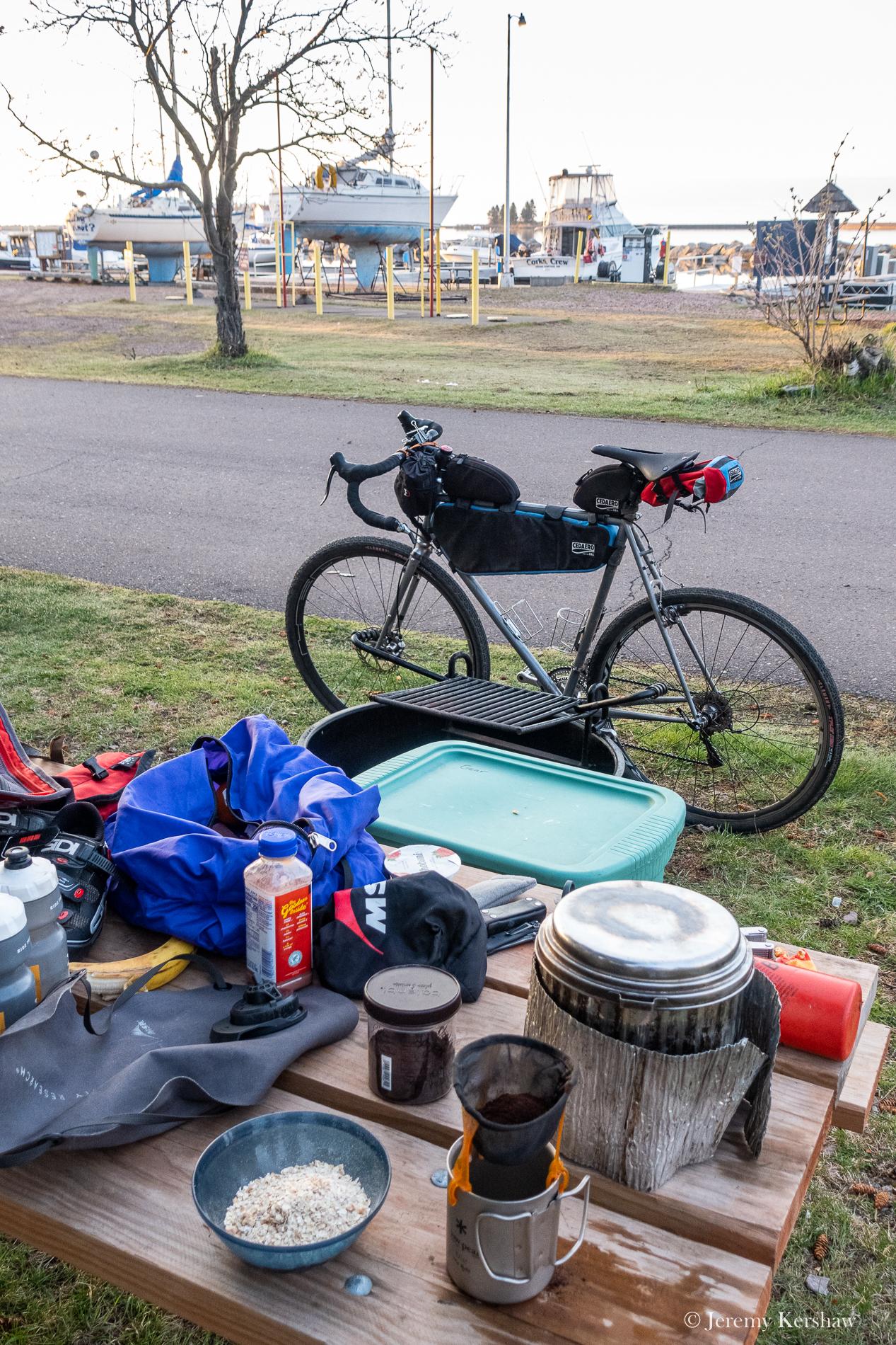 Basecamp at the Grand Marais Municipal Campground and Marina