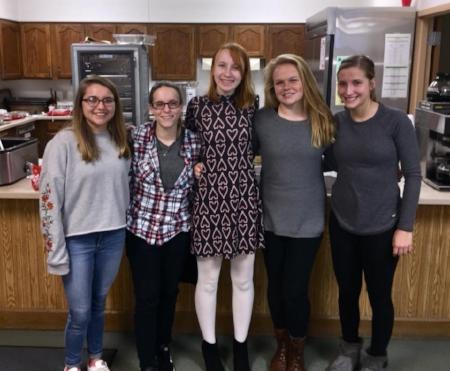 2018 Youth Ambassadors: Alyssa Riley, Reily Wills, Madeline Trinity, Erica Gruenewald, and KC Stedman