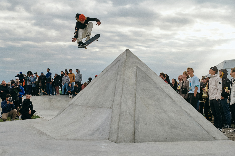 alec majerus, proper 360 flip at the triangle 2019 Photo: arto saari