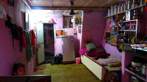 One-room houses in Mumbai (Images for Lisa Rochon and Globe and Mail) (Priyanka Shah)