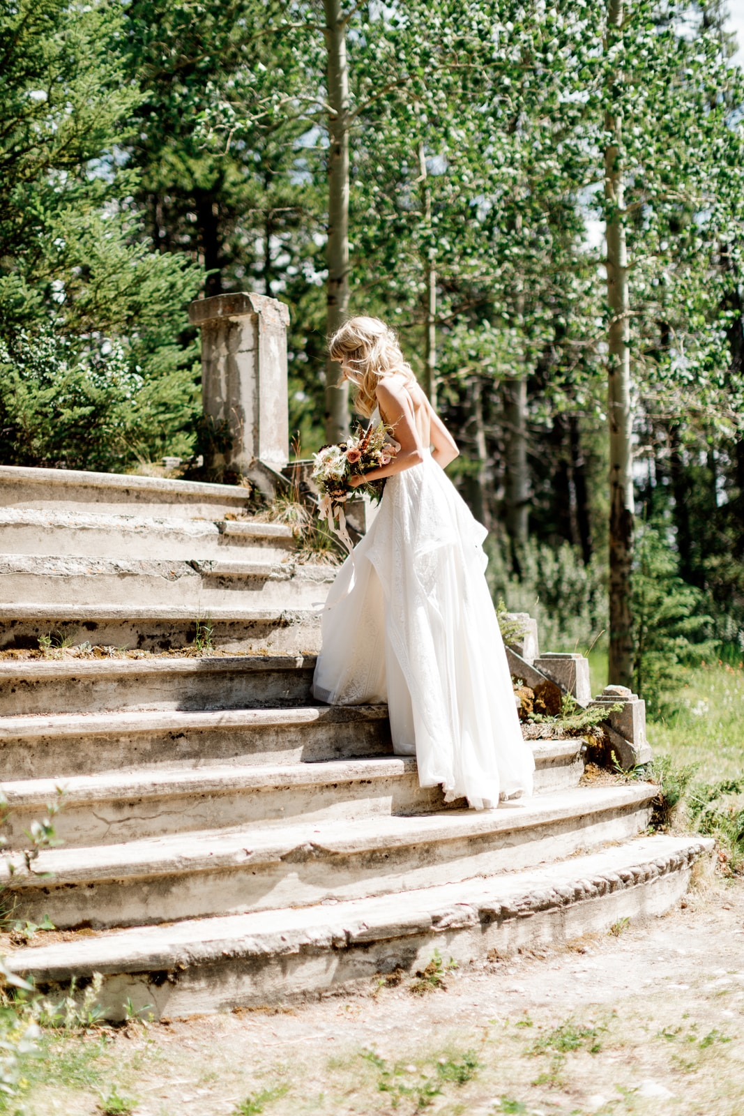 Banff Gondola Bride