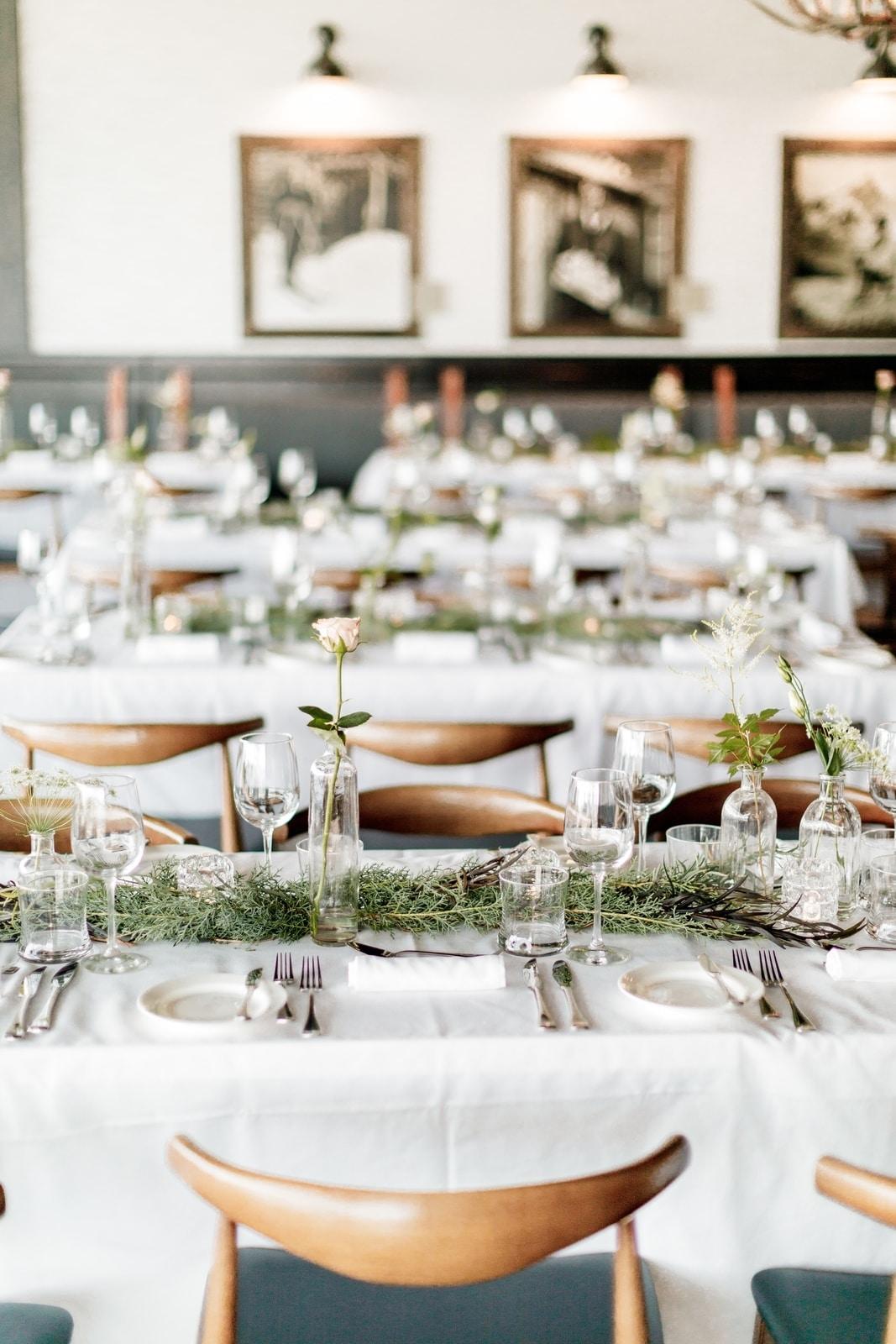 Sky Bistro Wedding Reception