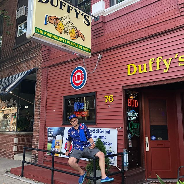 @mockinyou makes it to Duffy's...and had an experience.