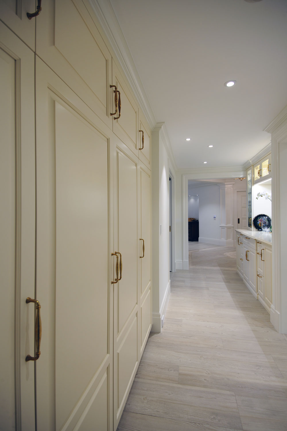 Timeless Traditional Home Hallway Cabinets