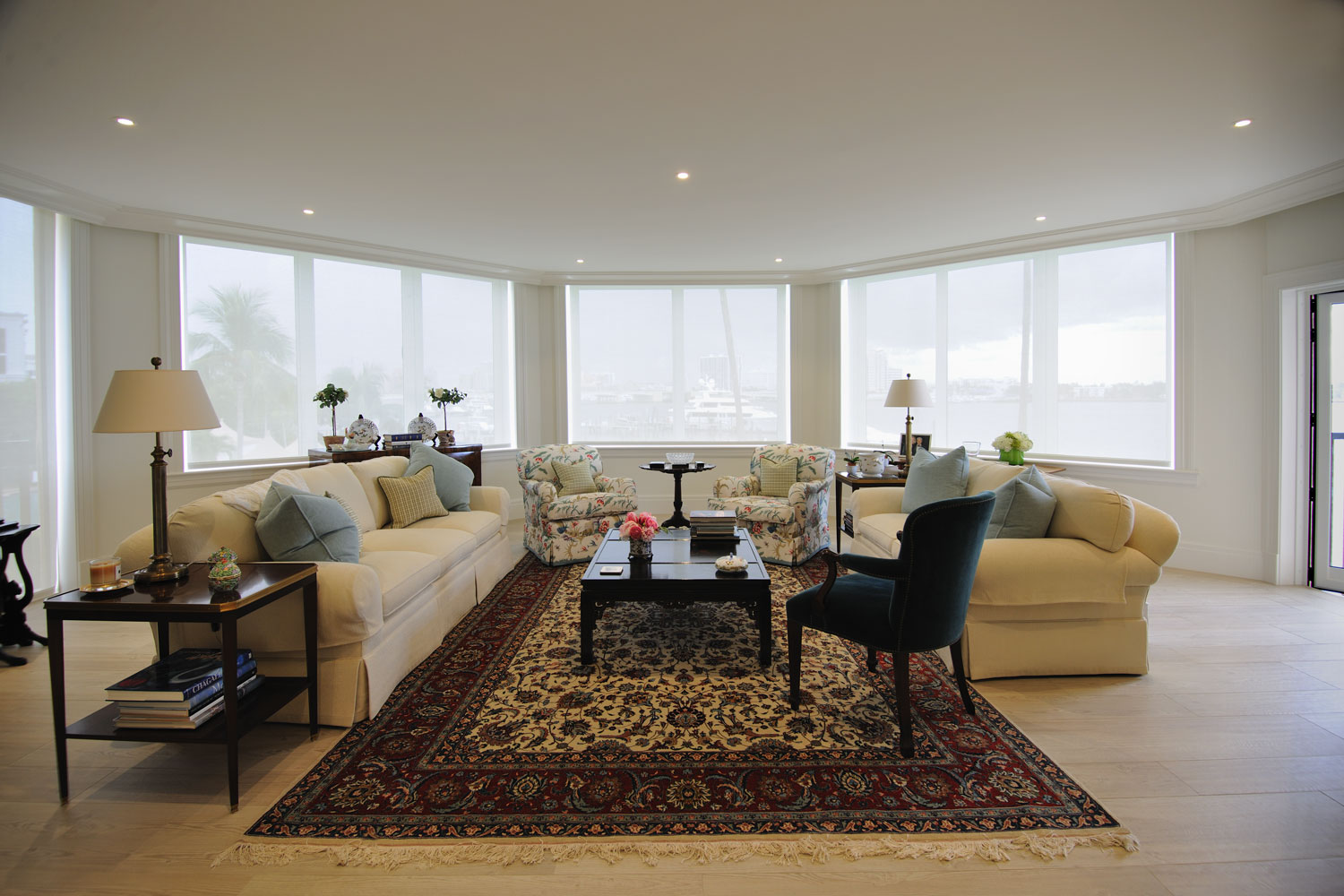 Timeless Traditional Home Living Room
