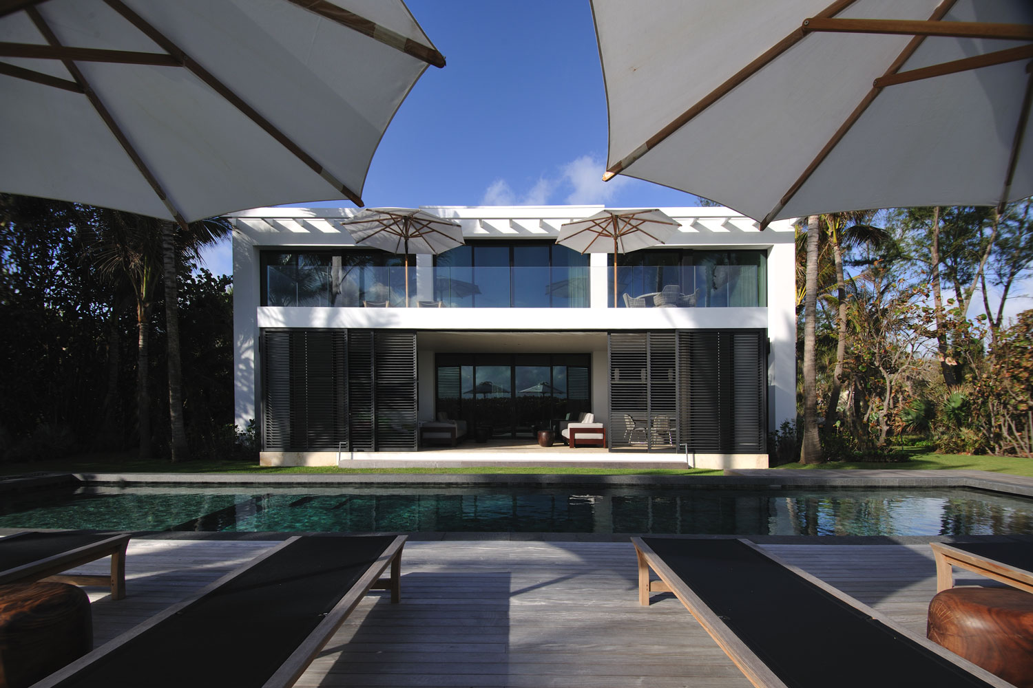 Modern International Deck and Pool