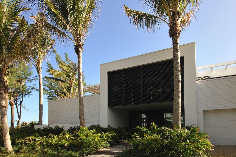 Modern International Front Entrance