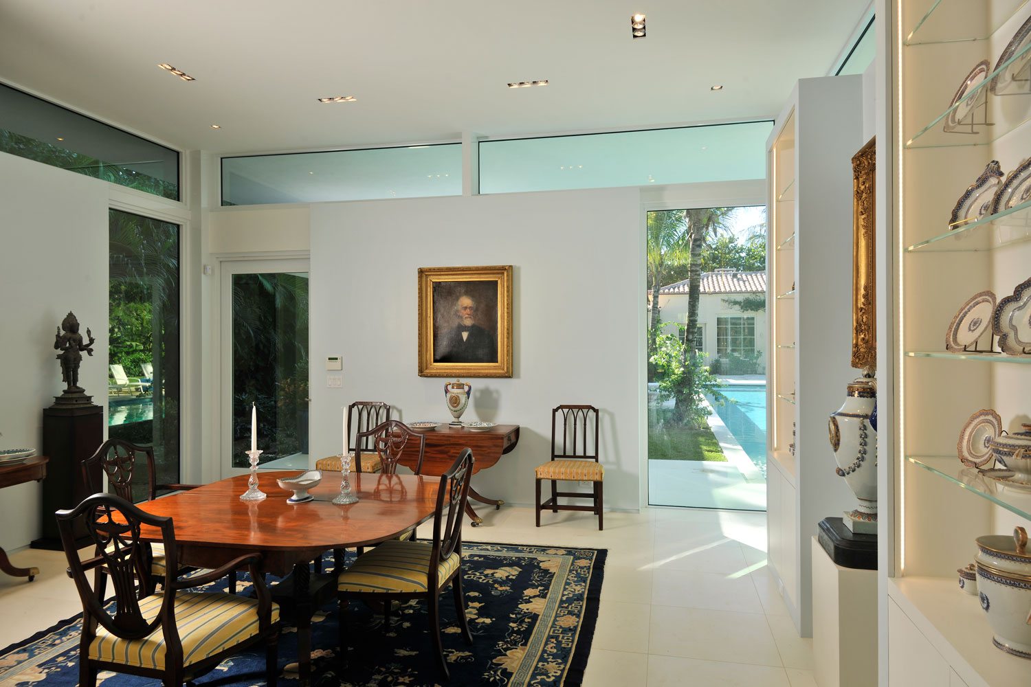 Modern Home Extension Dining Room