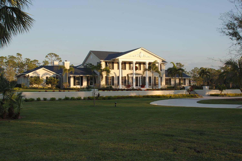 Plantation Home Front Exterior