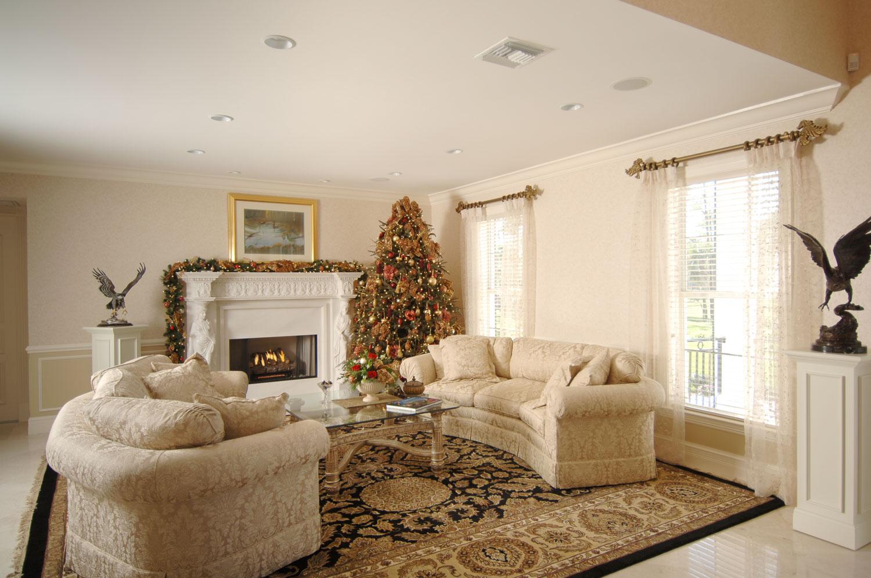 Plantation Home Living Room