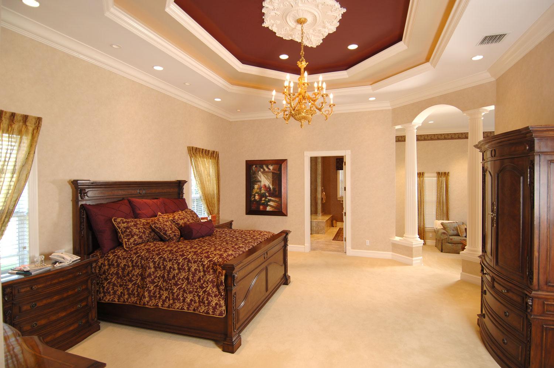 Plantation Home Master Bedroom