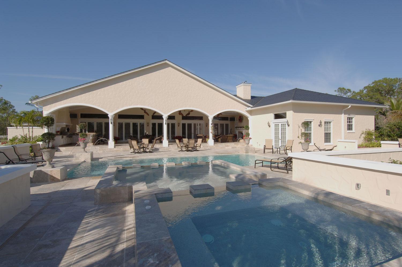 Plantation Home Pool