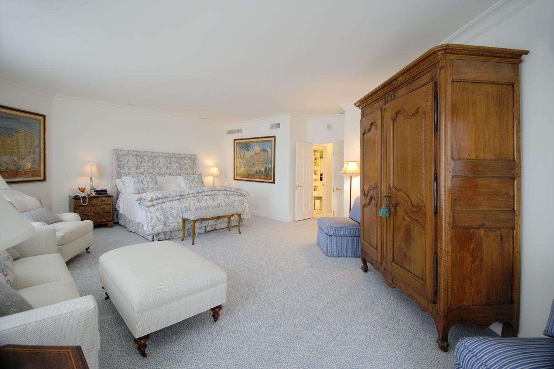 Transitional Home Master Bedroom