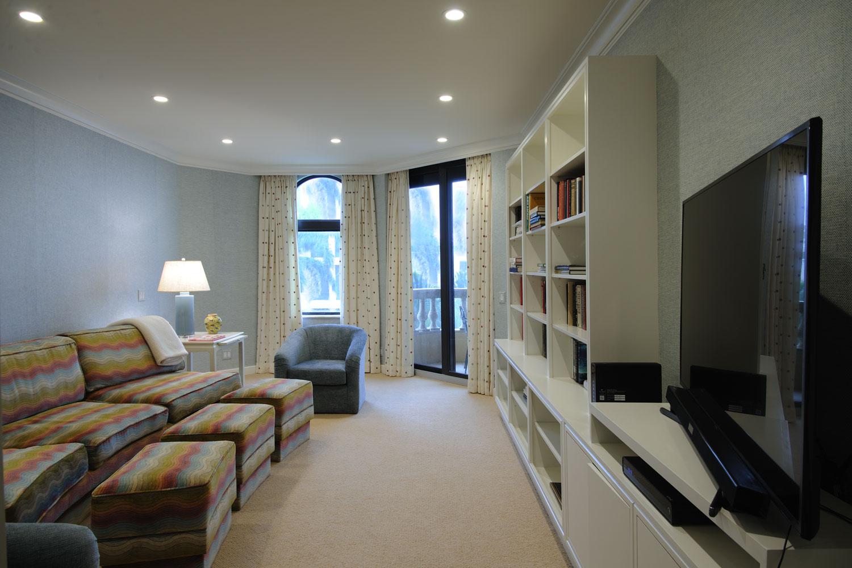 Transitional Home Den