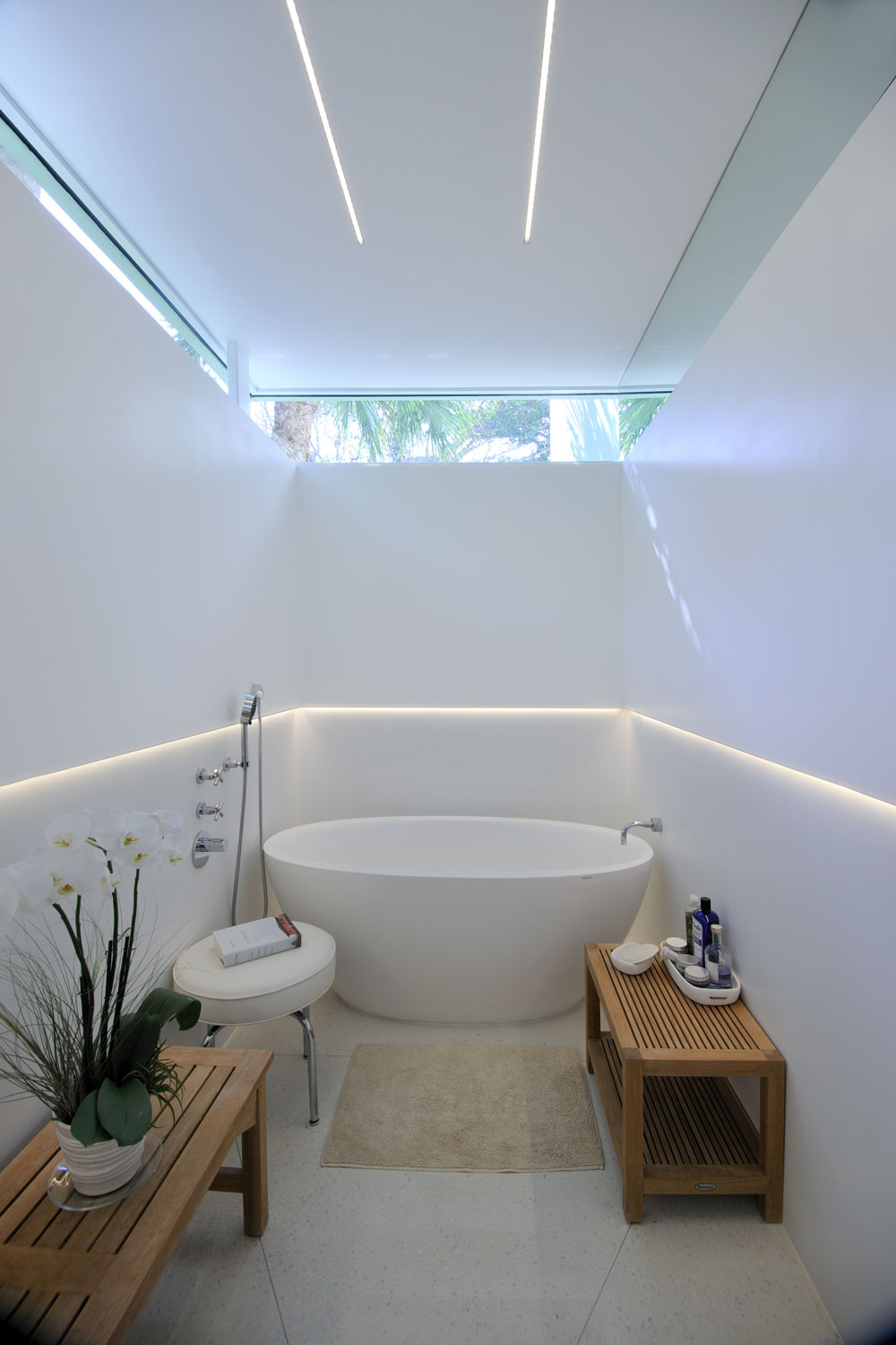 Modern Home Master Bathroom