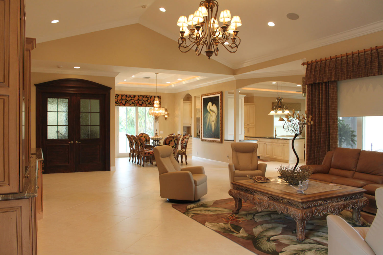 British West Indies Home Living Room