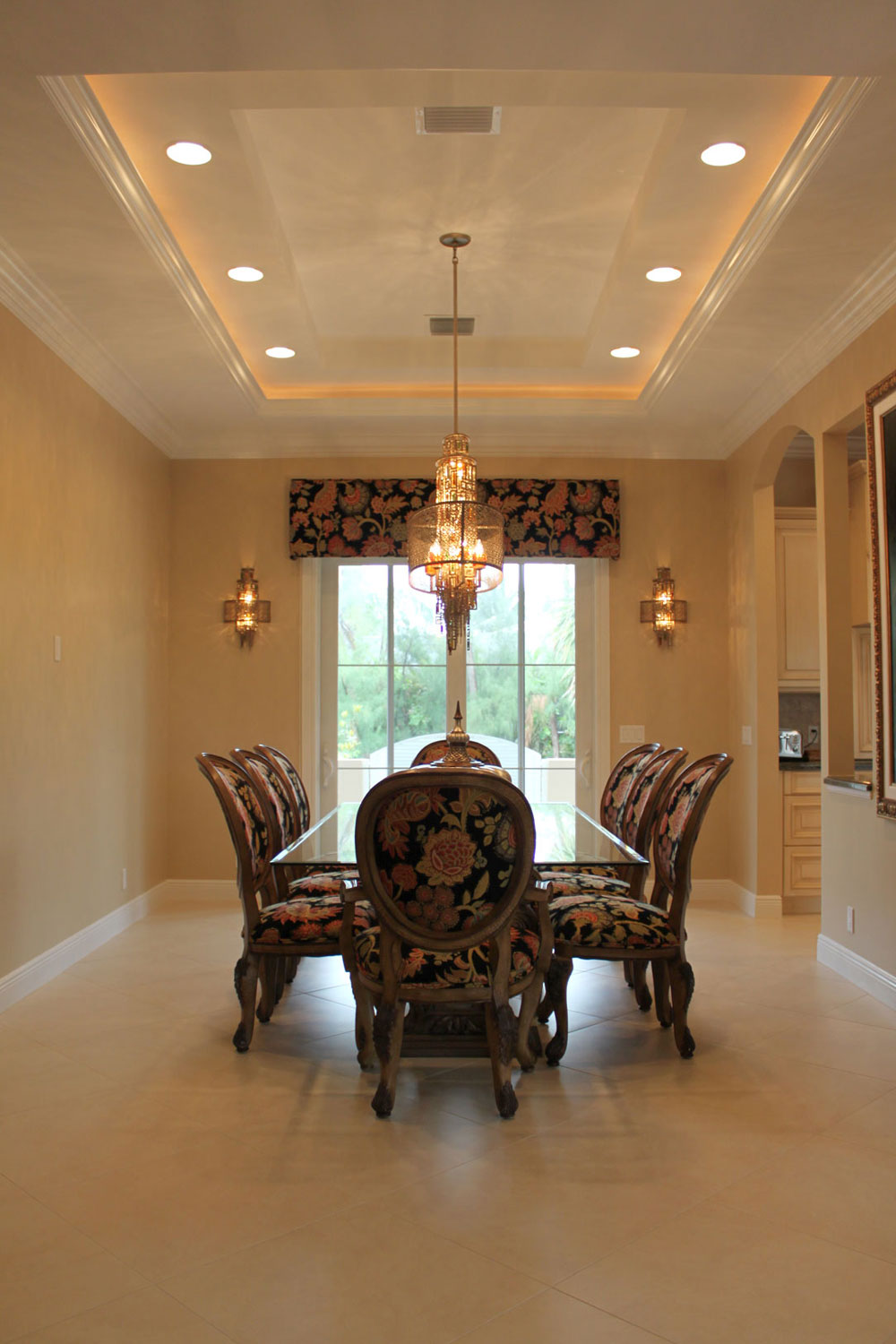 British West Indies Home Dining Room