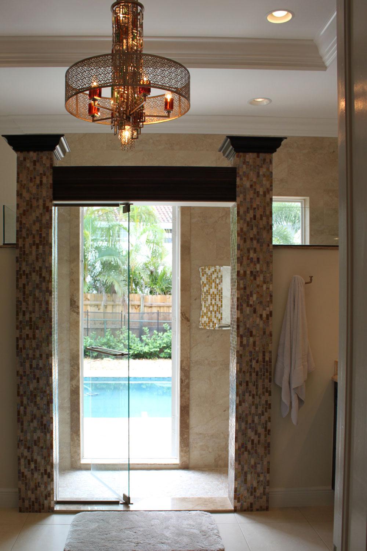 British West Indies Home Master Bathroom