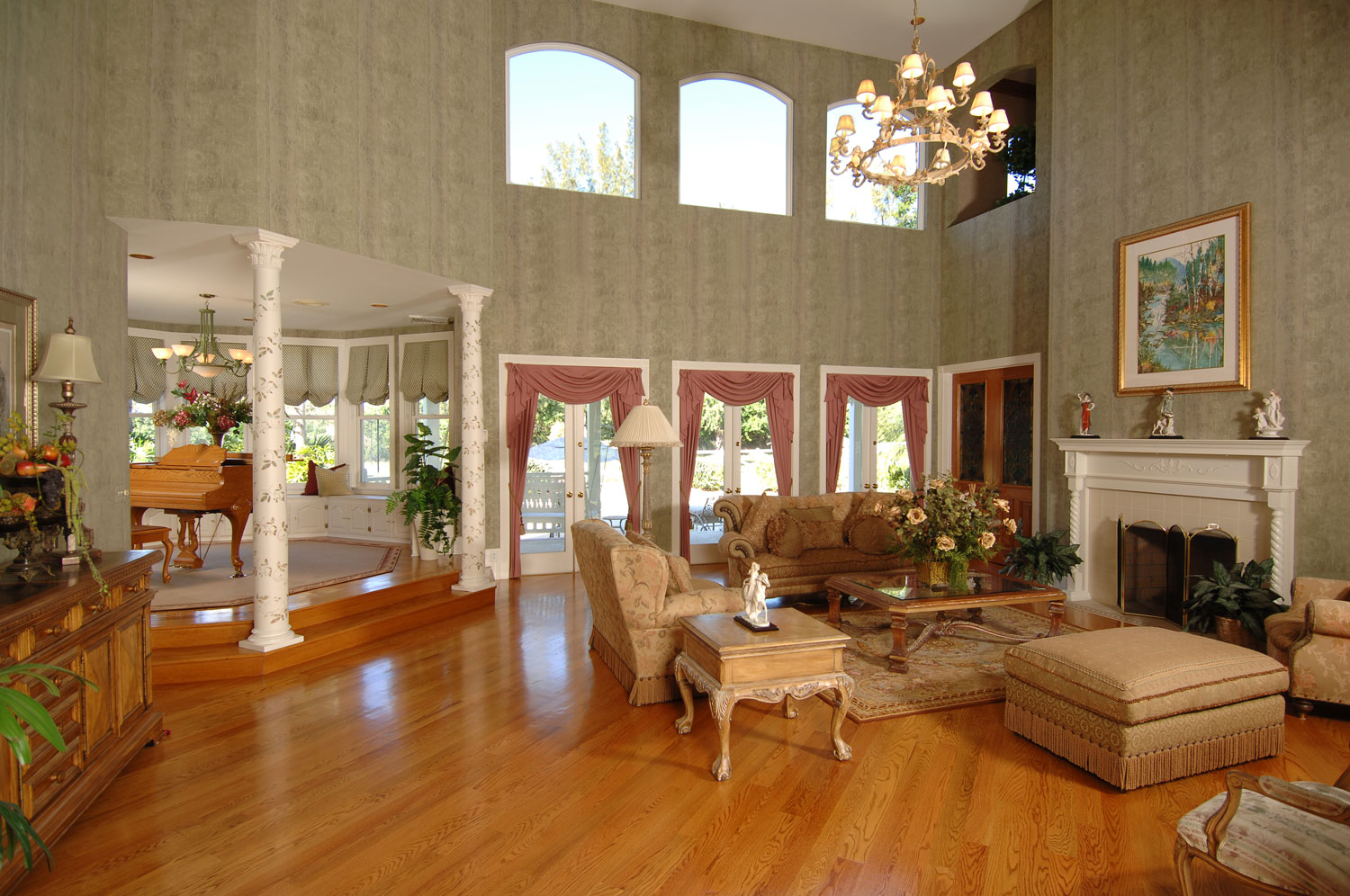 Victorian Home Living Room